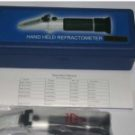 Jual Hand Refractometer Glycol, coolant refractometer, battery refractometer (Refraktometer Alat Laboratorium Industri)