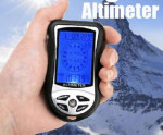 Jual Alat Pengukur Ketinggian (Digital Altimeter with Compass, Barometer,weather forecast, time , calendar, thermometer , and backlight)