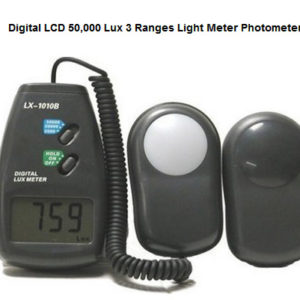Jual Alat Ukur Intensitas Cahaya (Digital Lux Meter, Pengukur Intensitas Cahaya, Light Meter)